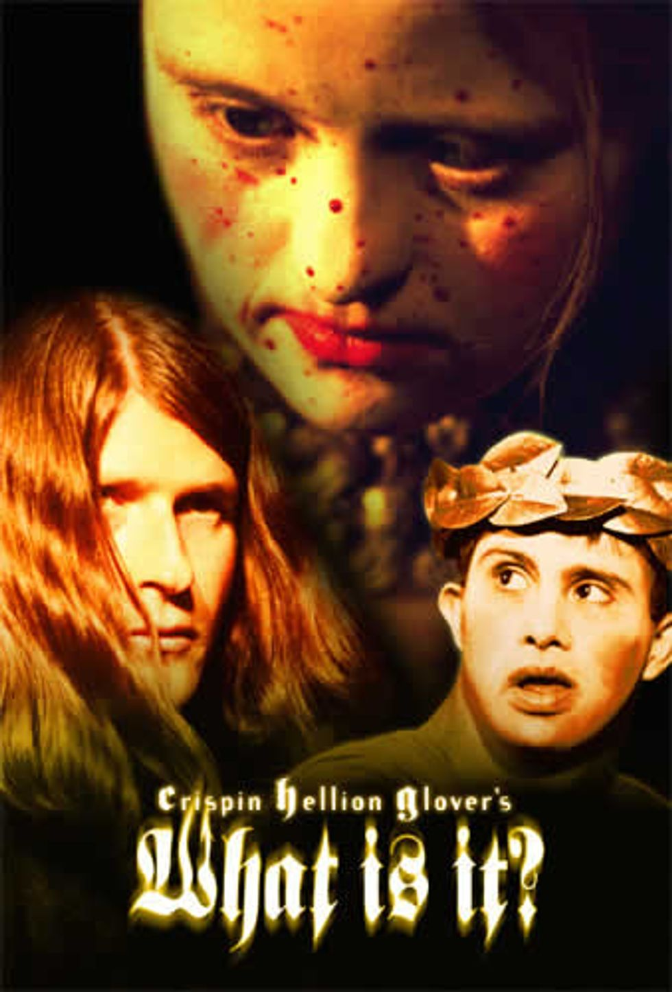 Crispin Glover! What Is It