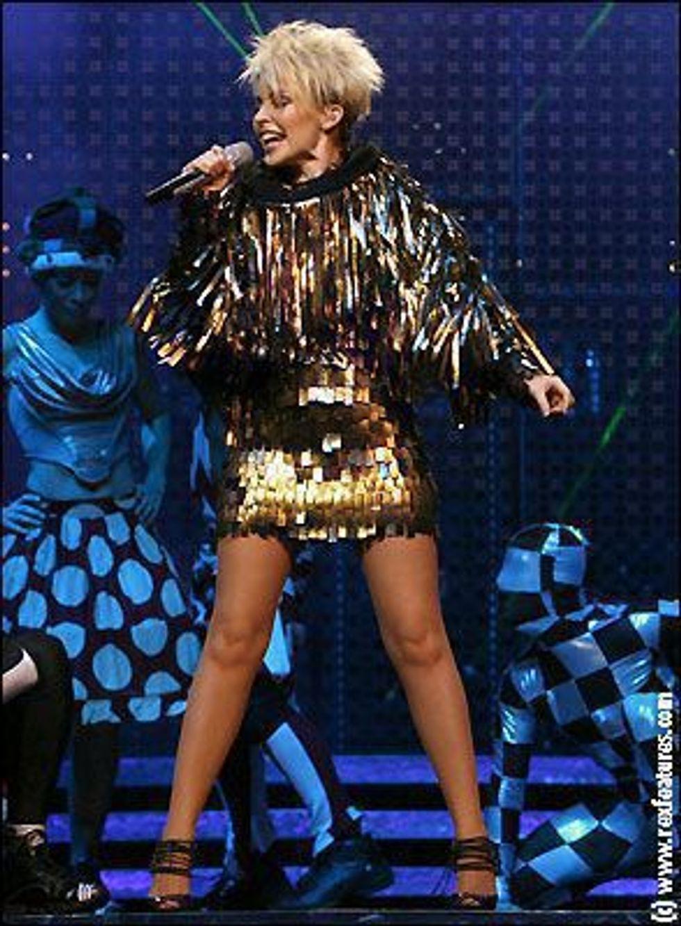 Kylie Minogue Wears Gareth Pugh!