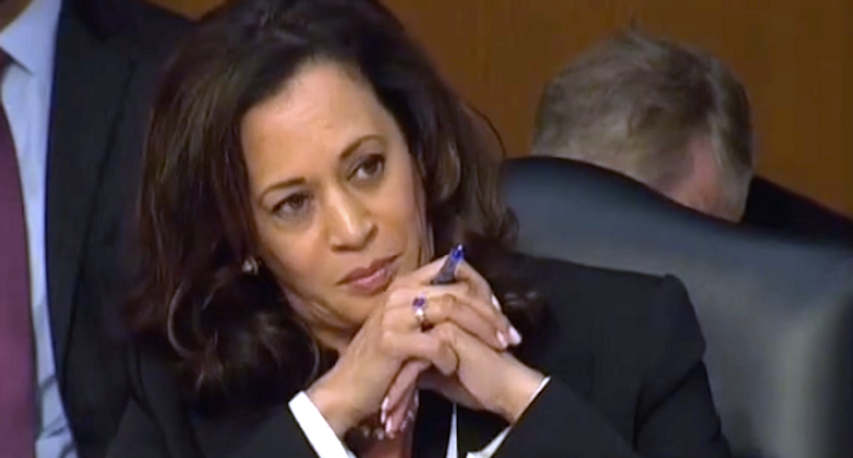 Trump could face Kamala Harris presiding over his impeachment trial if John Roberts takes a pass: report