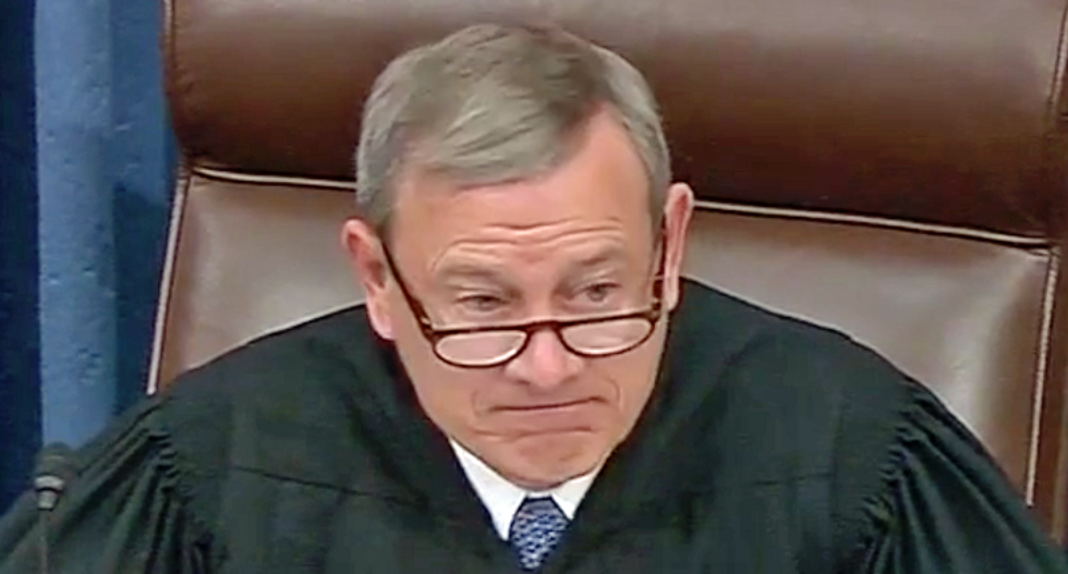 Justice Roberts denounced for refusal to investigate federal judge's sudden retirement