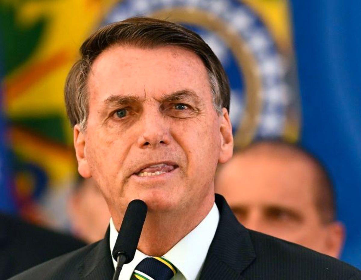 Brazil indigenous leaders sue Bolsonaro for 'crimes against humanity'