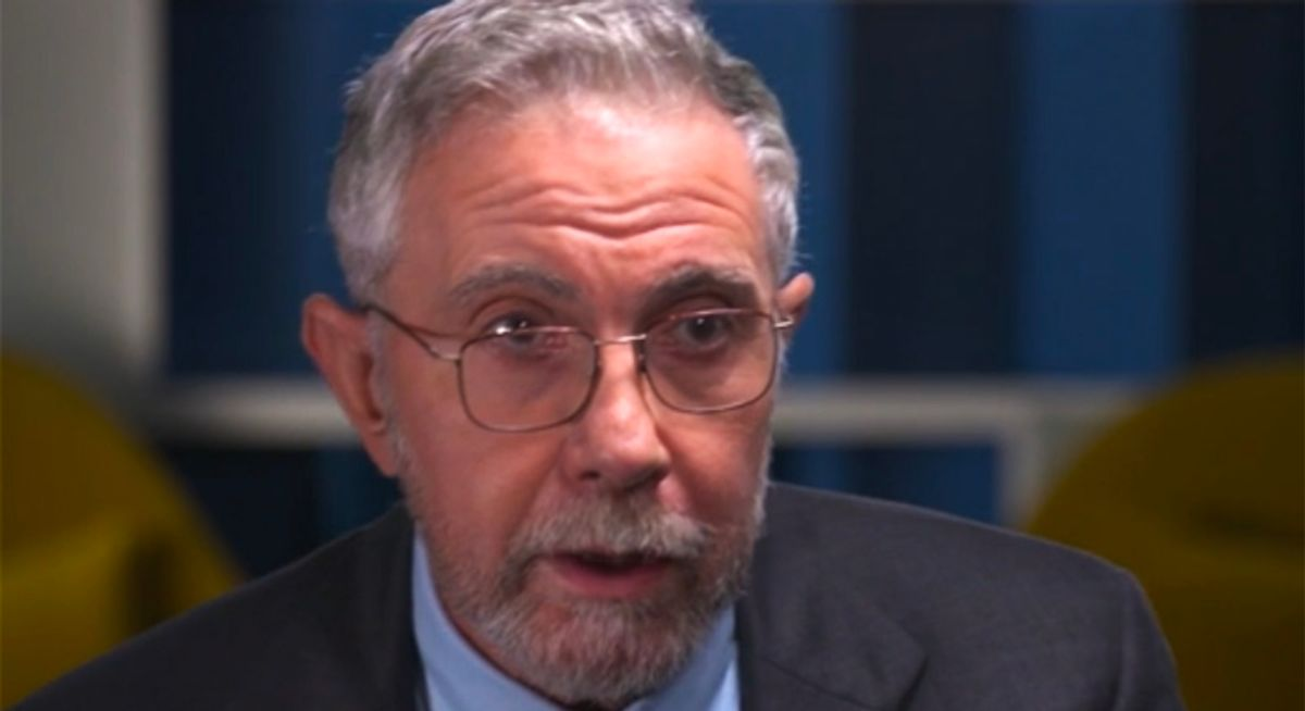 Paul Krugman's predictions about the Republican party are coming true