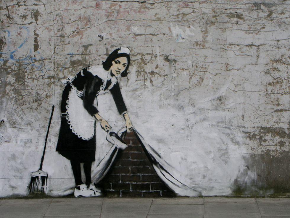 Banksy Gives It Away