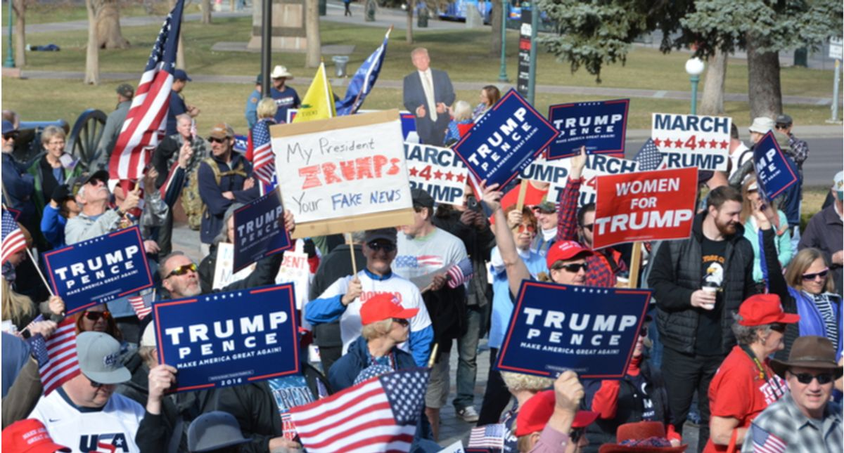 On Parler, the MAGA social media platform, Trump supporters are ready for insurrection