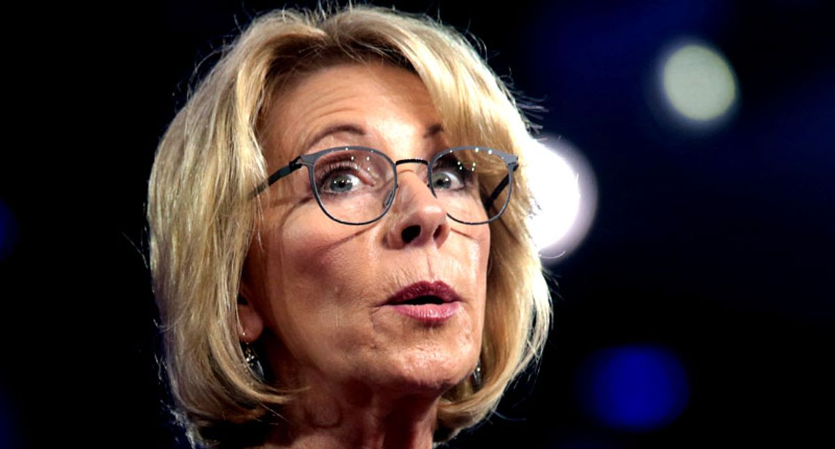 DeVos was terrible at her job and knew nothing about public schools. That was exactly what the far right wanted