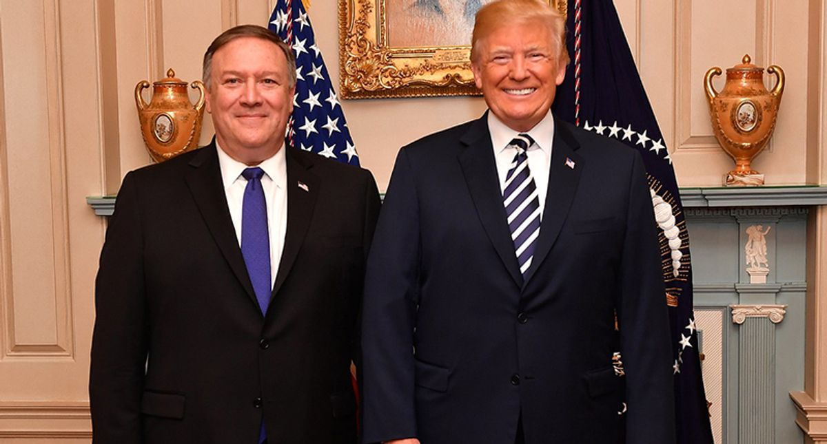 Mike Pompeo is desperately trying to co-opt Trump's legacy: columnist