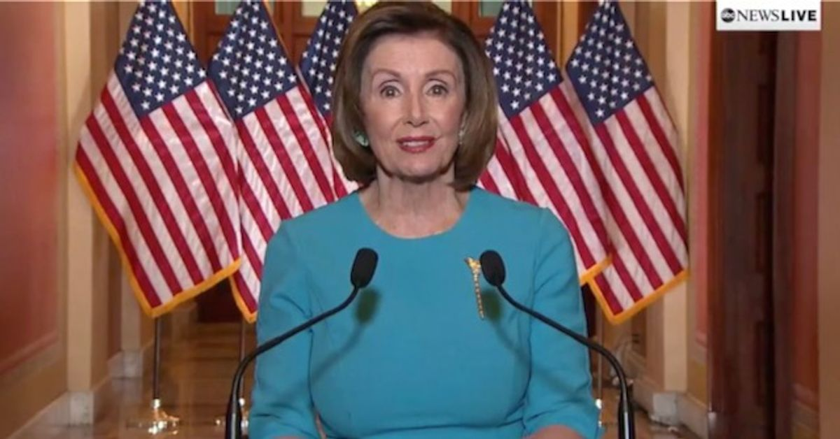 Pelosi says spoke with military chief on preventing Trump nuclear strike