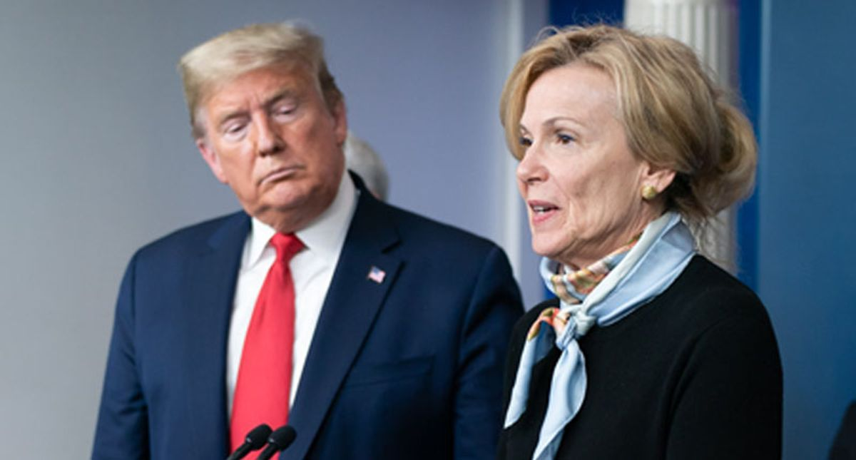 I 'always' considered quitting Trump's task force: Dr. Deborah Birx