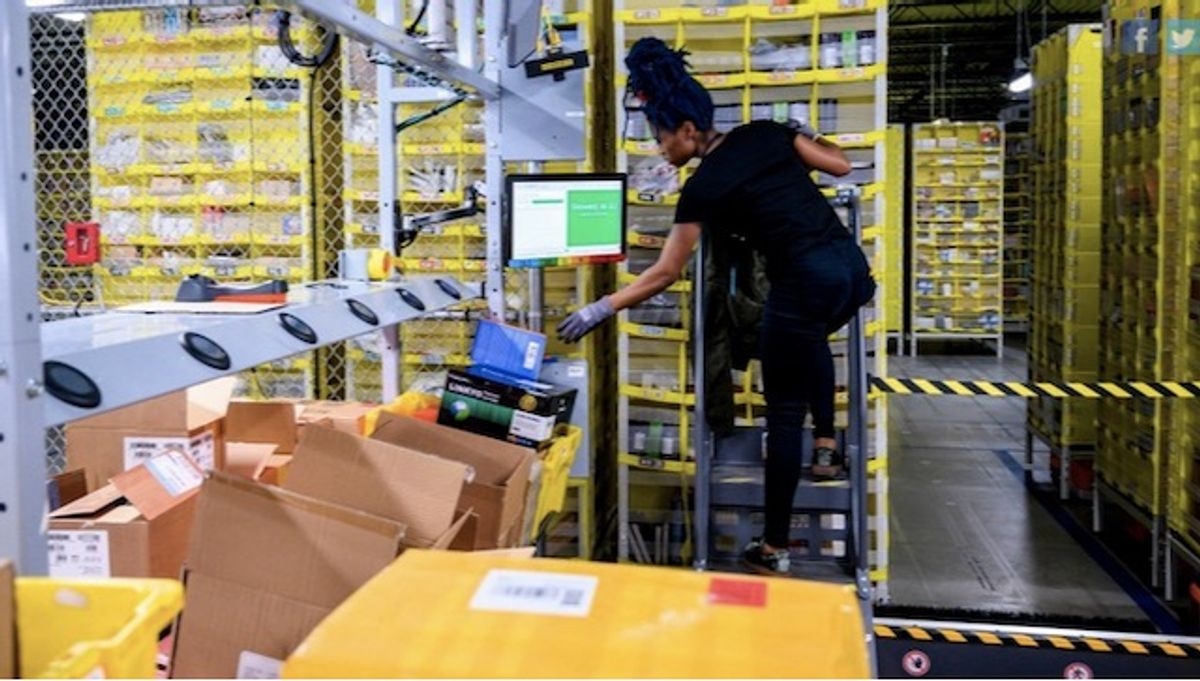 Amazon workers begin voting in landmark US union push