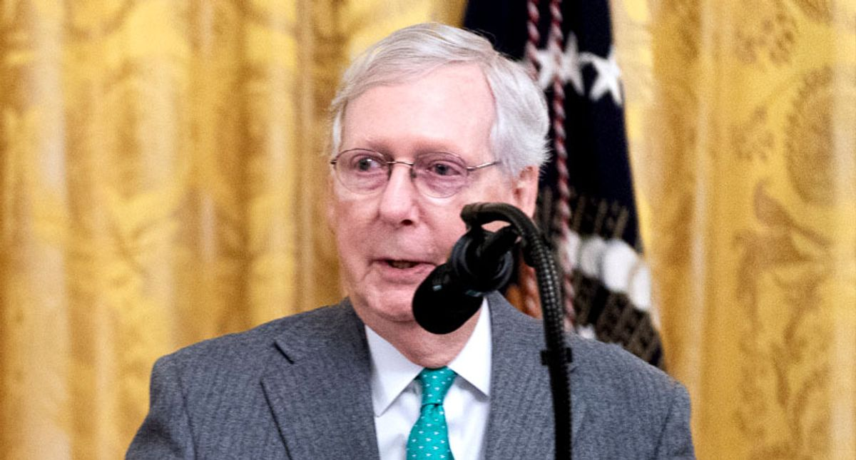 Leaving Mitch in the ditch: Trump loyalty may prove too potent a force for McConnell to handle