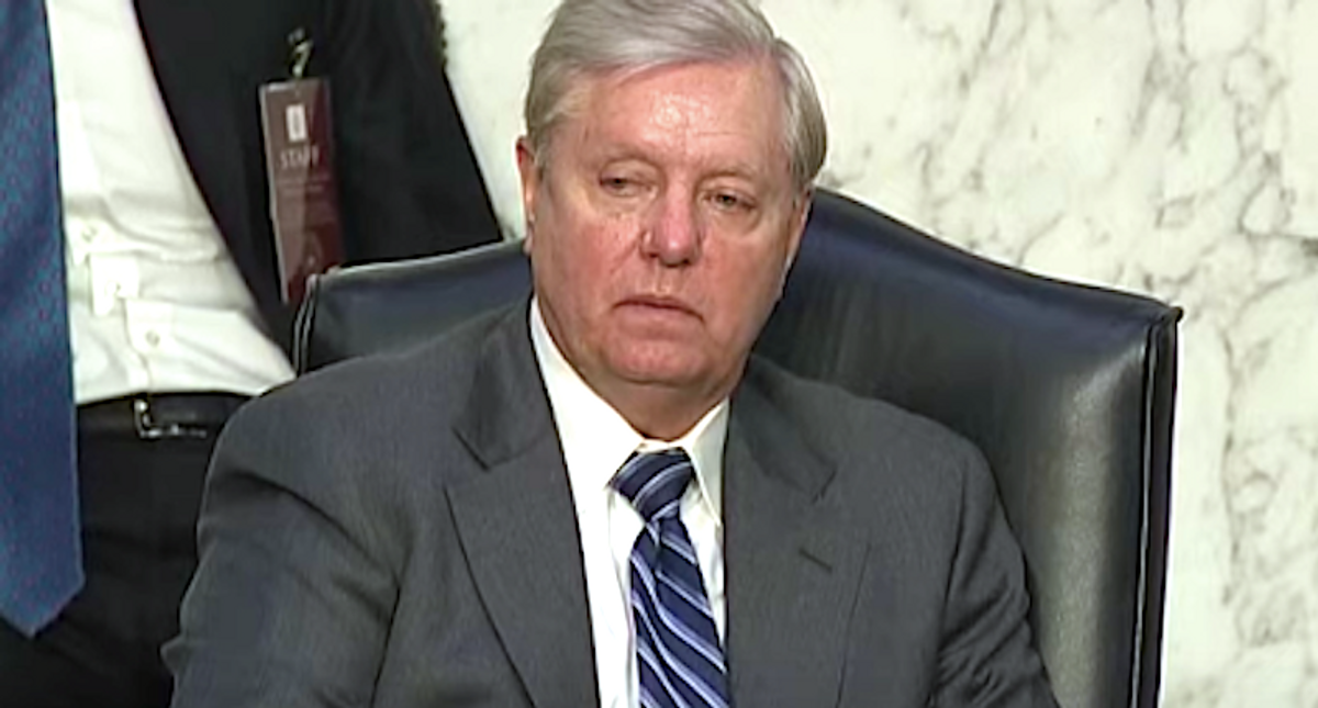 Lindsey Graham slammed by ex-Republican staffer: He wants to keep the GOP 'a racist party'