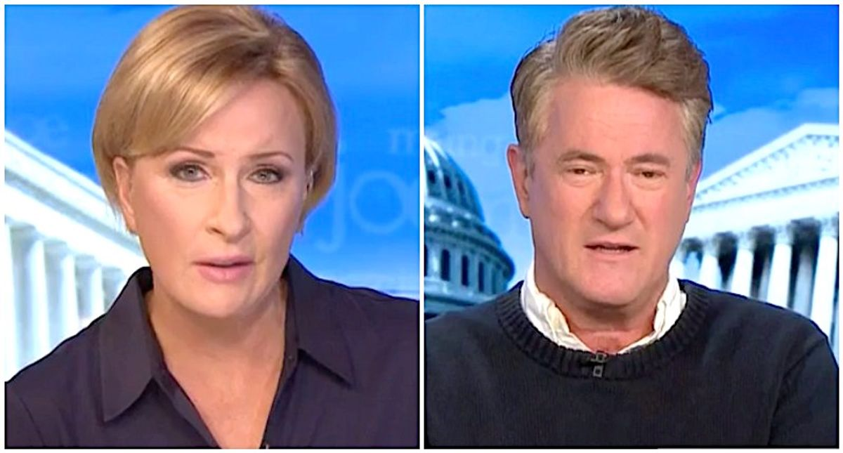MSNBC's Morning Joe and Mika bust Trump's boasts about working hard: 'He golfed and watched TV!'