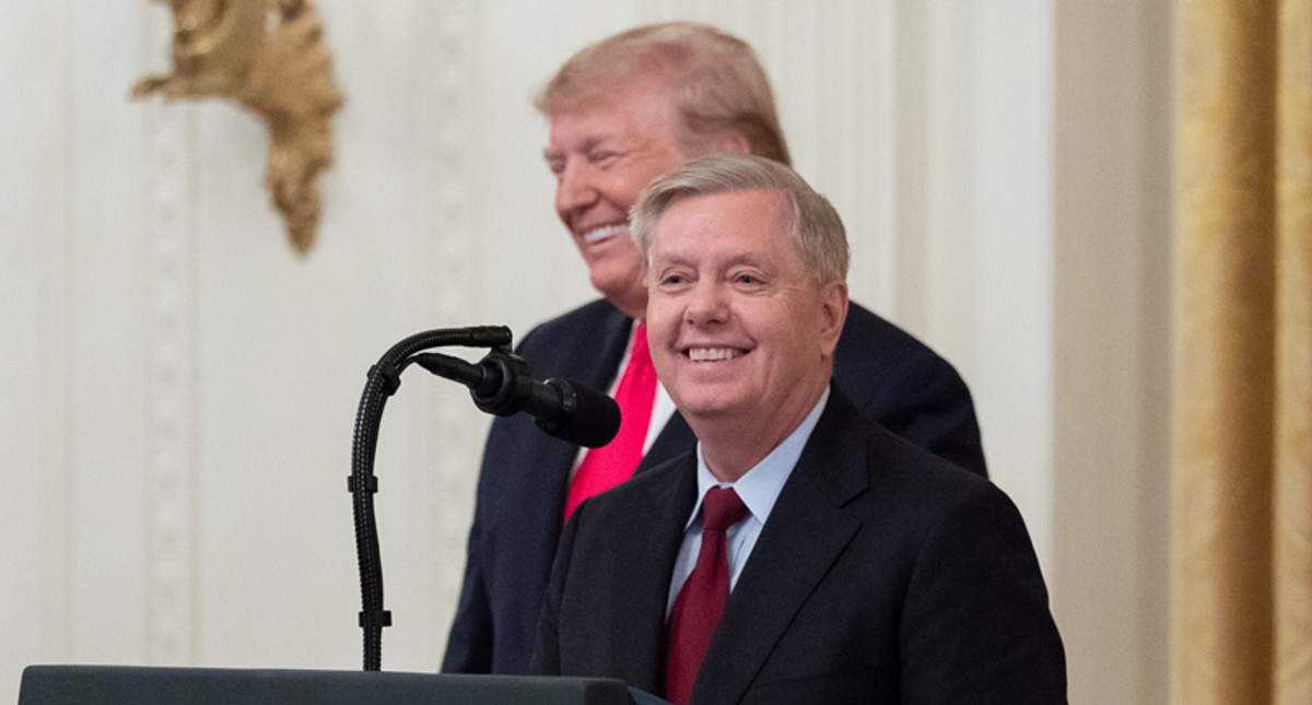 Lindsey Graham leads impeachment defense — while the White House sits it out: report