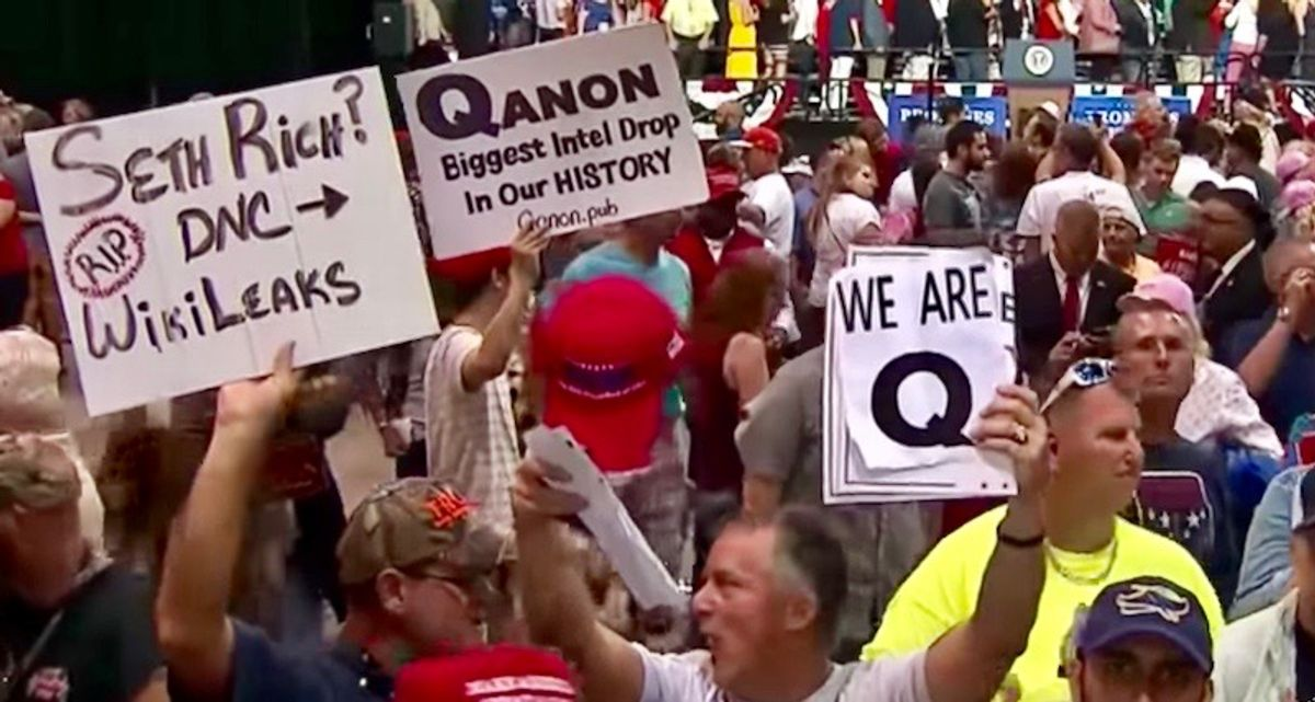 Neo-Nazis recruiting 'naive' QAnon cultists pushed off mainstream social media sites