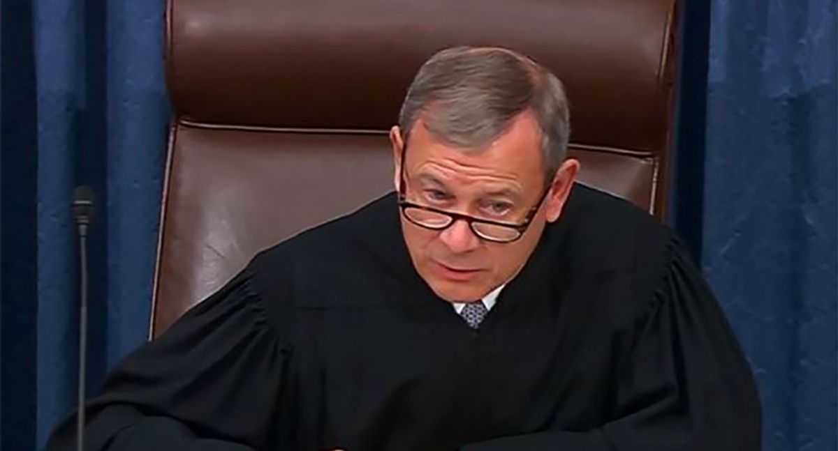 John Roberts' absence from Trump's second impeachment trial should come as no surprise
