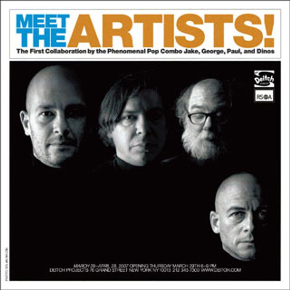 Chapmans, Condo & McCarthy -- Meet the Artists