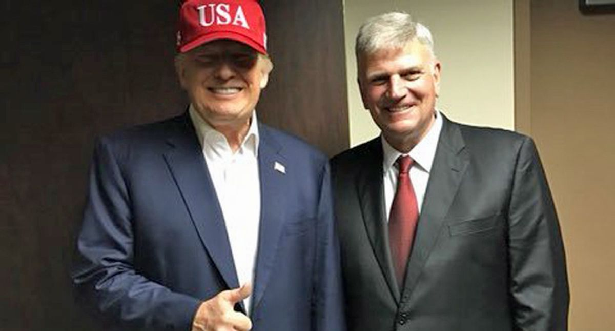 Franklin Graham ripped for 'inciting violence' after comments on Republicans who voted to impeach