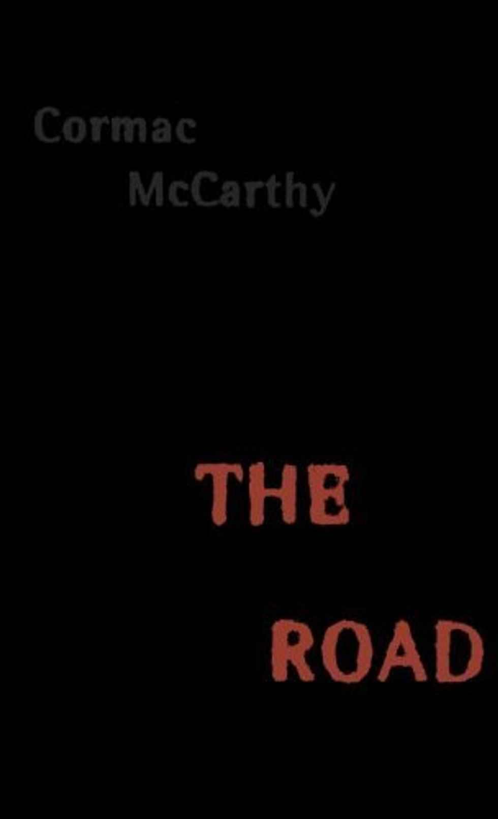 Cormac McCarthy, Man of the Hour