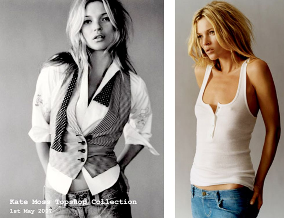 Sneak Peek at Looks from Kate Moss for Topshop