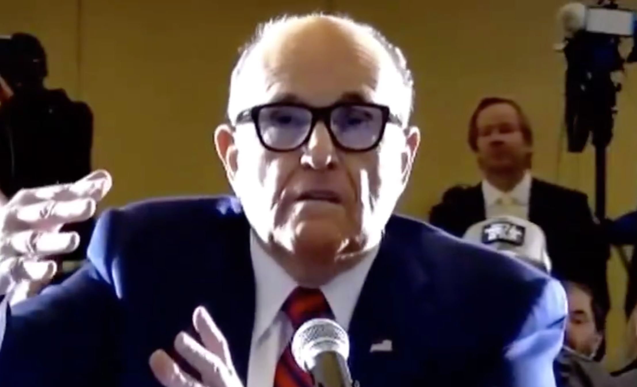 Rudy Just Bragged That He 'Knows Crooks Really Well' and Everyone's Making the Same Joke