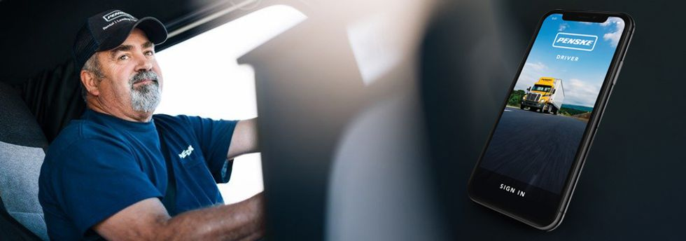 Penske Driver App