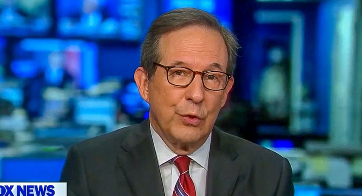 'The rule of a mob': Chris Wallace condemns DC protest after Trump incites violence