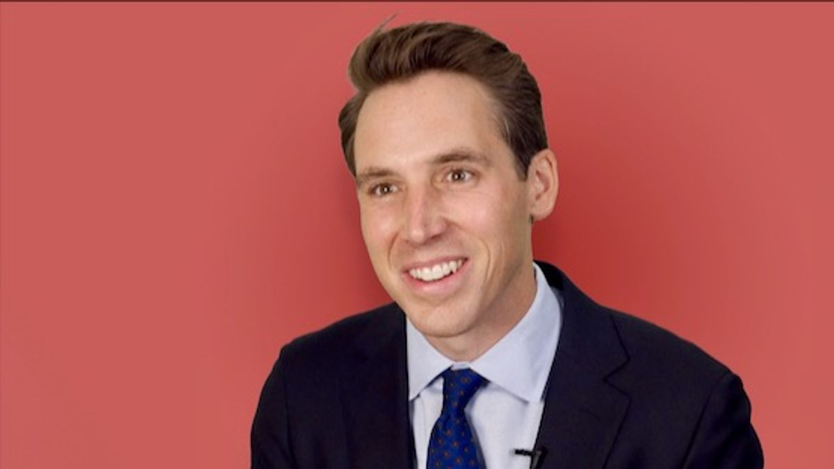 Calls grow for expulsion of 'insurrectionist' Josh Hawley