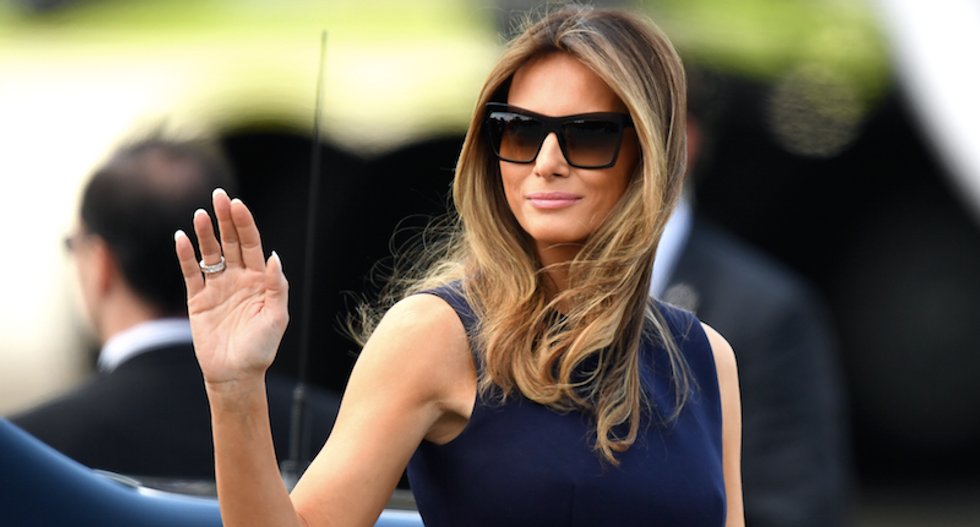 'You couldn't care less': Melania Trump crushed on Twitter for 'pretending' to like Thanksgiving