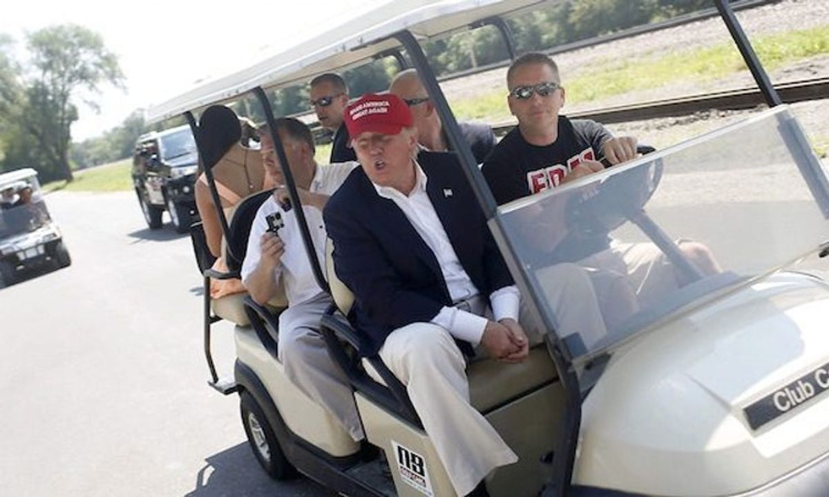 Trump is angrier about losing the PGA tour than being impeached a second time: report