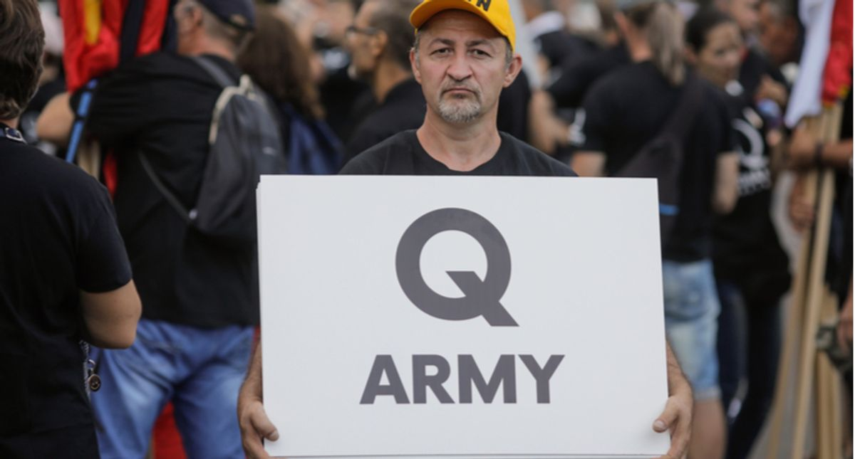 Twitter suspends 70,000 QAnon accounts in crackdown on extremist delusions by Trump supporters