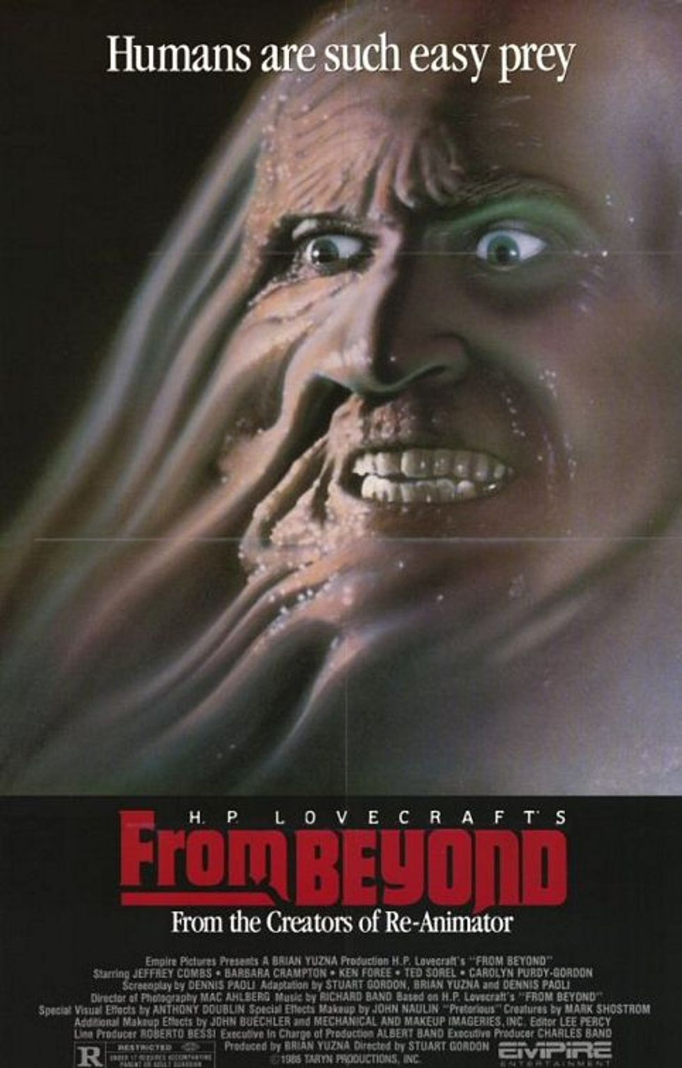 The Burning/From Beyond DVDs!
