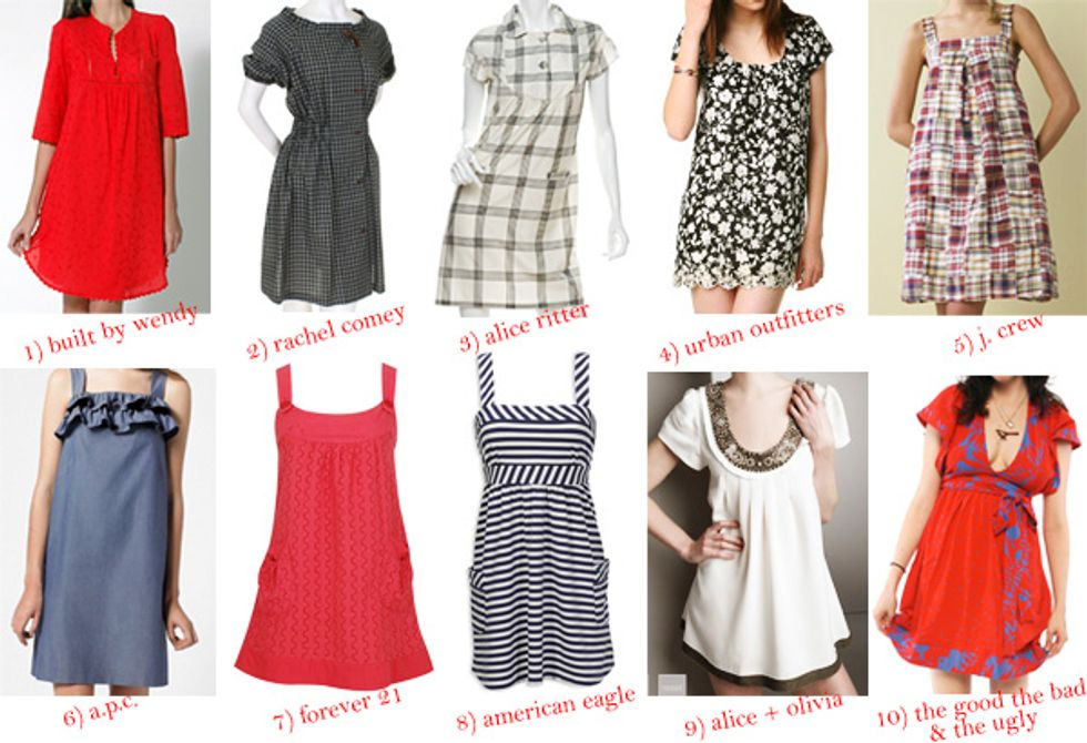 The Shopping Bug: From Flirty to Slutty... Summer's Coolest Dresses