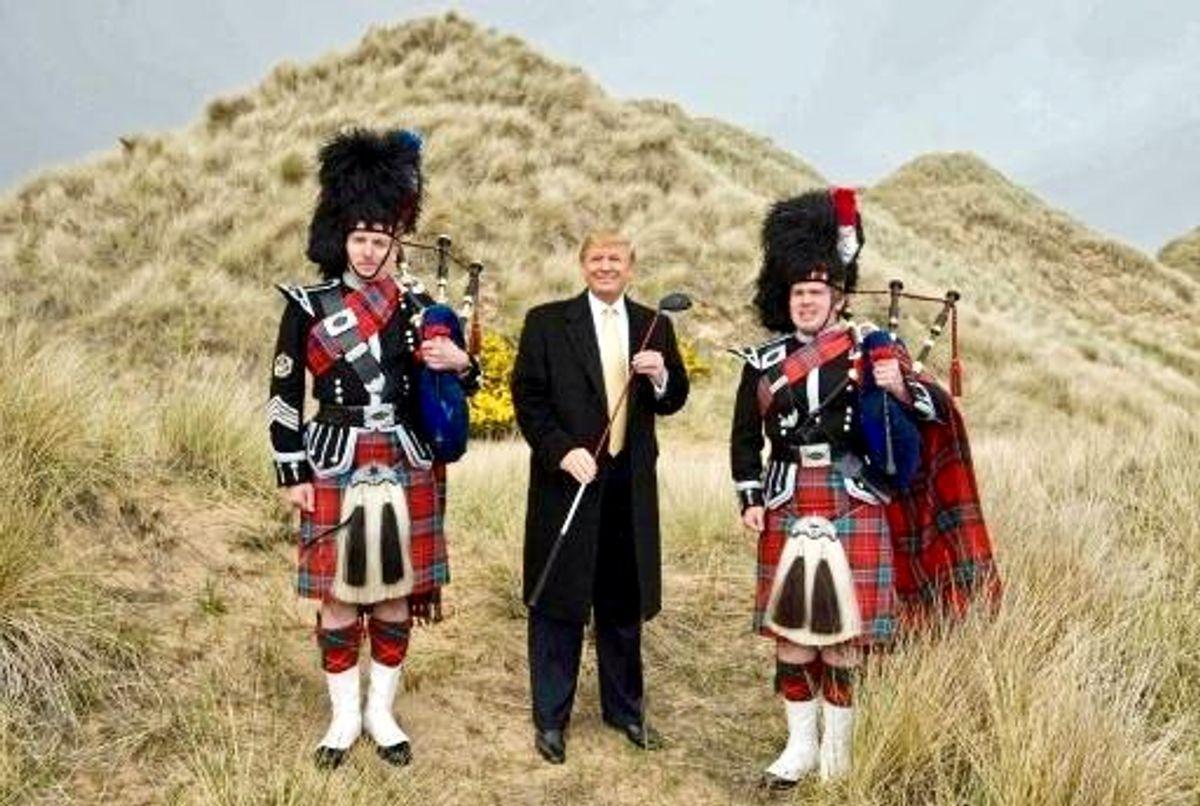 Unusual aircraft activity fuels rumors Trump may flee to Scotland before Biden inauguration: report