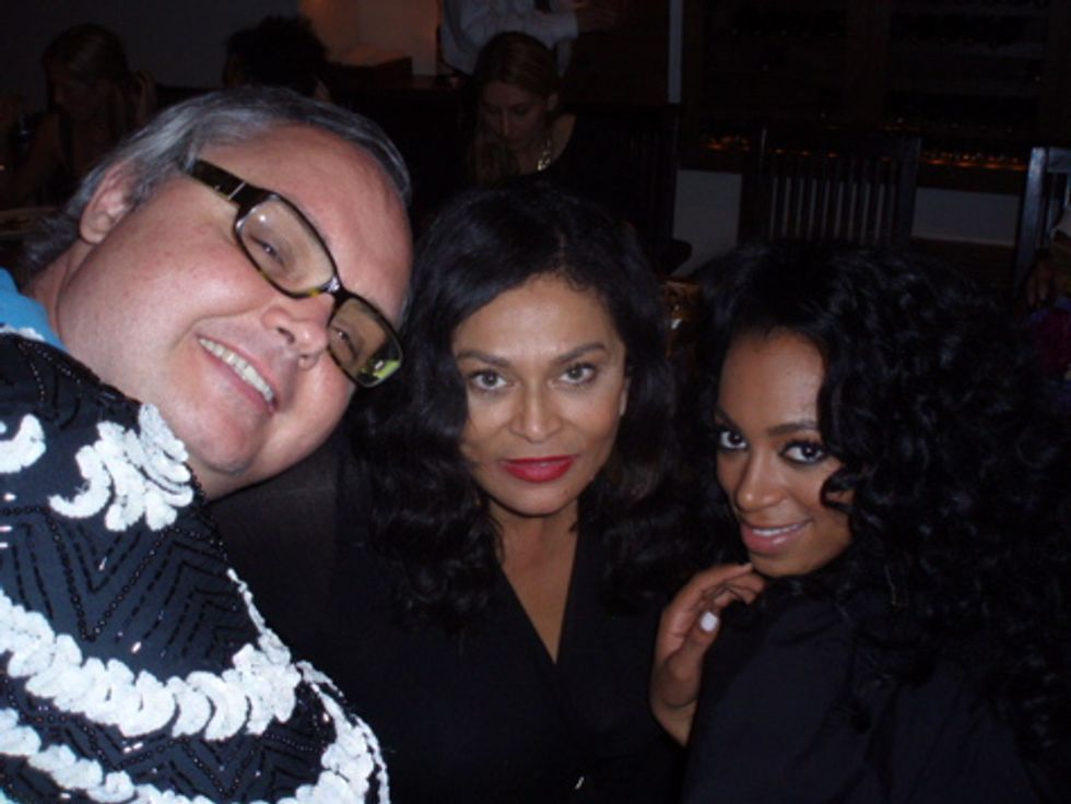 About Last Night... Mr. Mickey's Dinner with Solange & Tina Knowles!