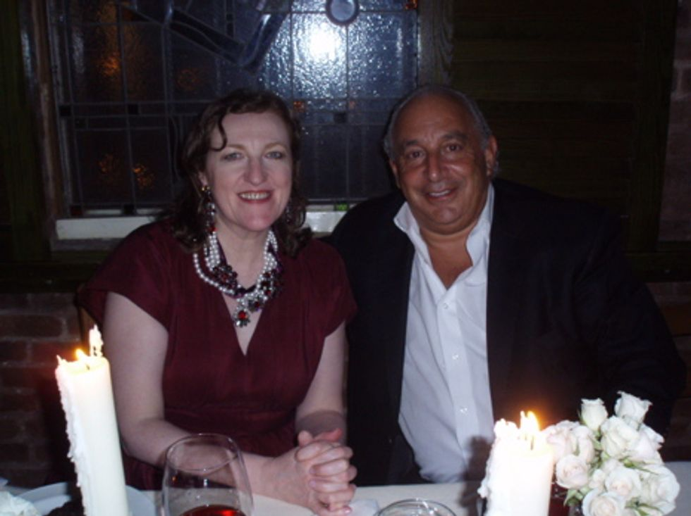 About Last Night... Dinner for Topshop's Sir Philip Green at il Cantinori