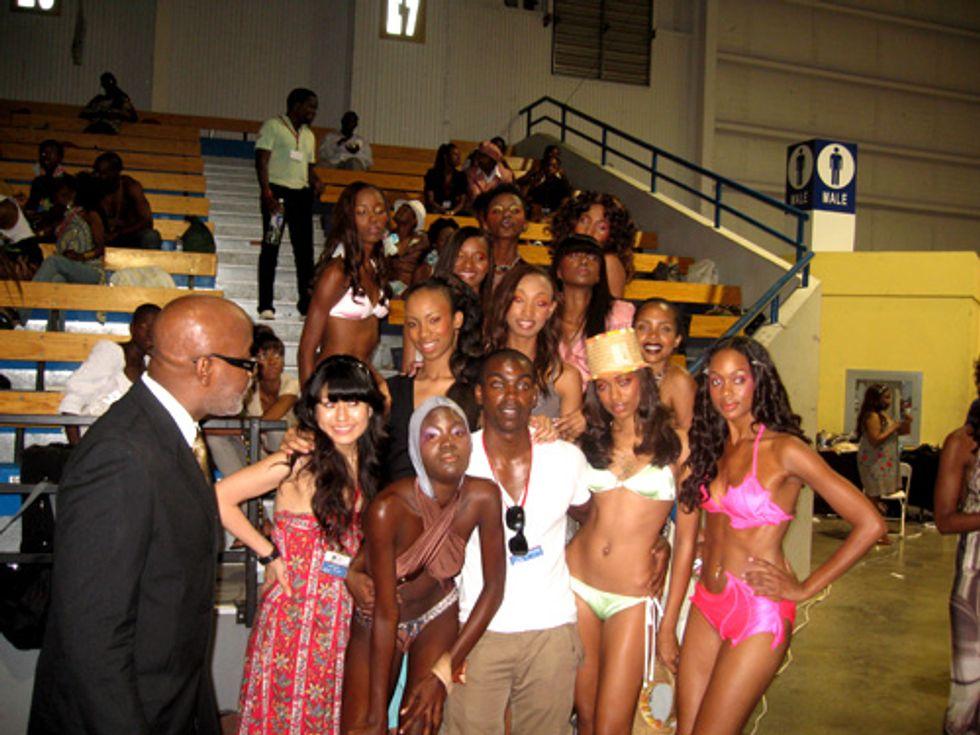 Caribbean Fashion Week: Models Are Gorgeous. Duh!