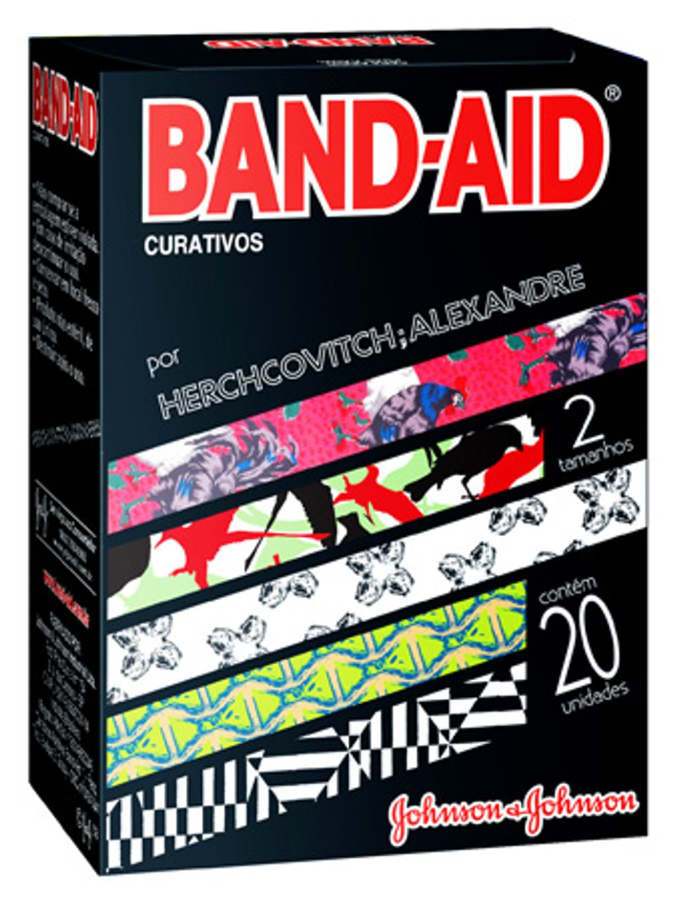 Alexandre Herchcovitch + Band-Aid Make Your Boo-Boos Beautiful