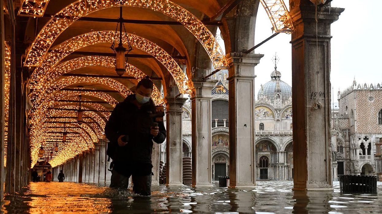 Venice Floods After New Barrier Fails to Activate