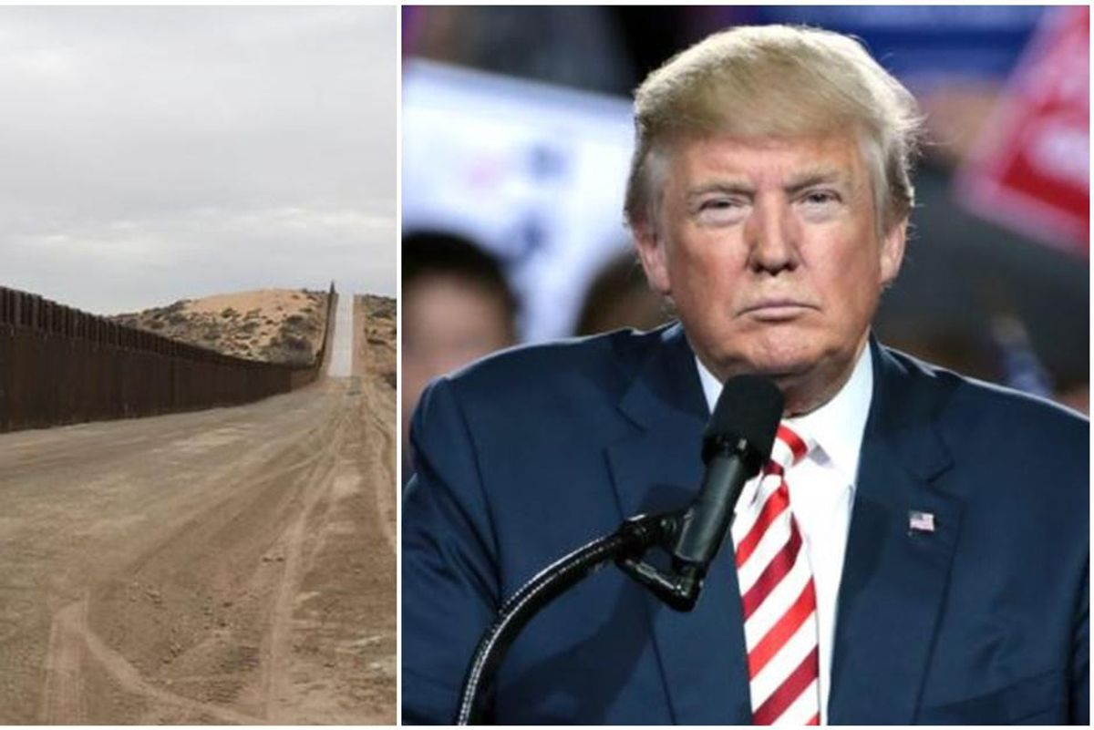 So, it turns out 'armed Mexicans' were smuggled into the U.S. to help build Trump's wall