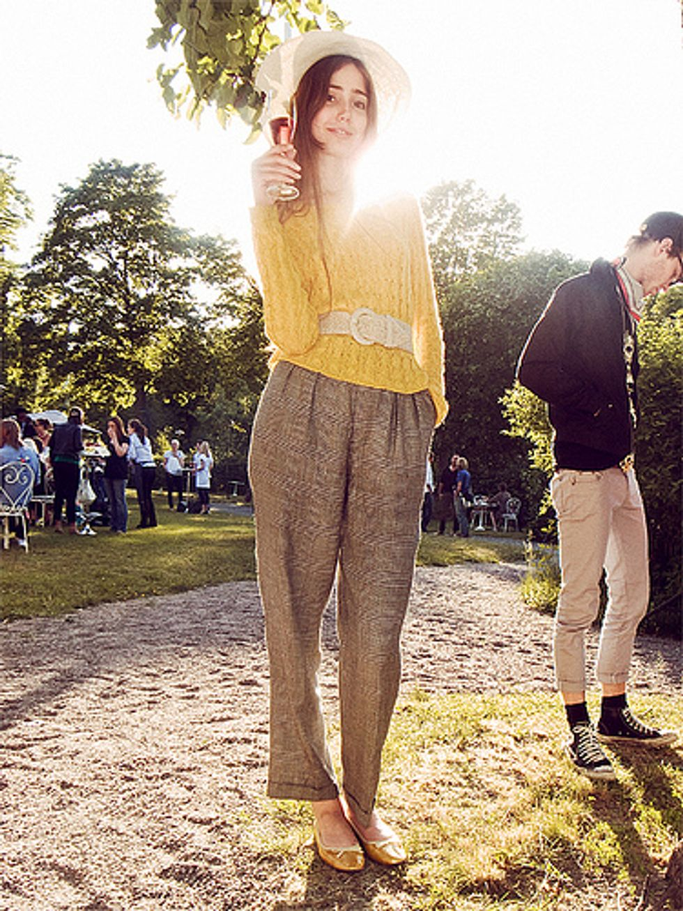 Meet Fashion Icon Filippa Berg