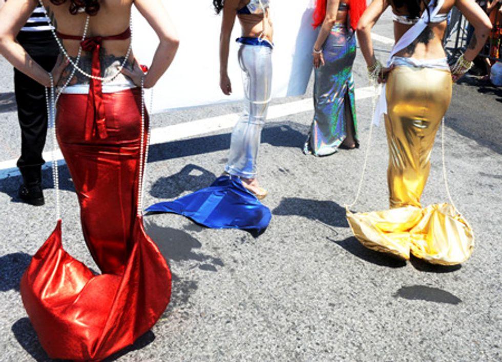 Scenes From the Coney Island Mermaid Parade