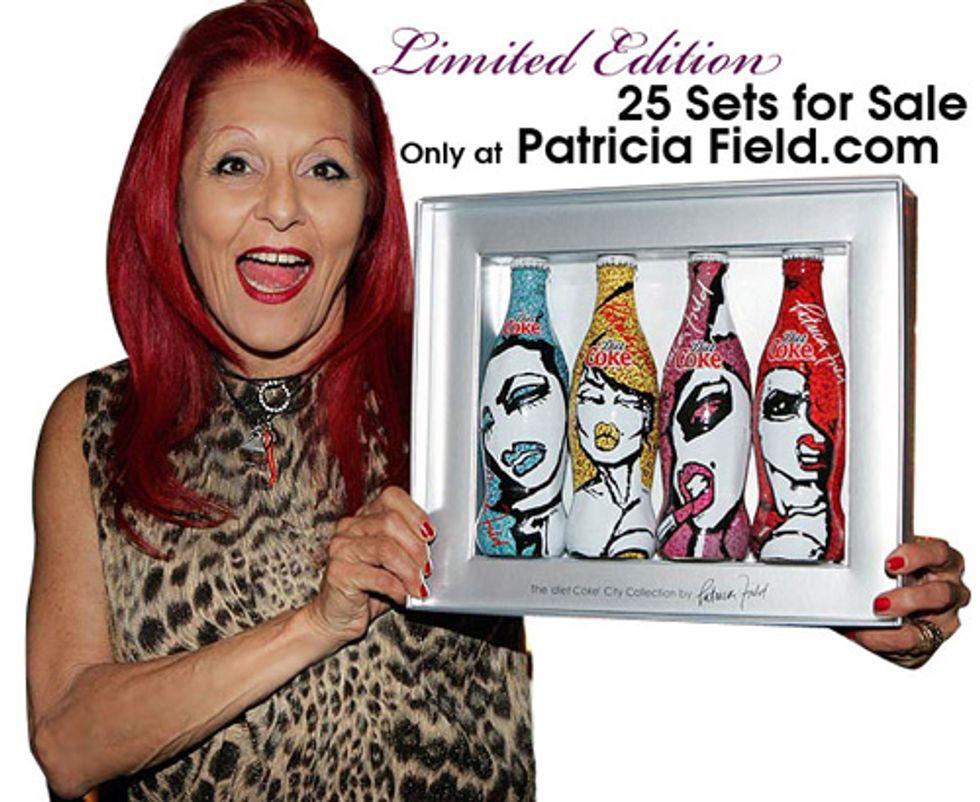 Patricia Field Does Diet Coke