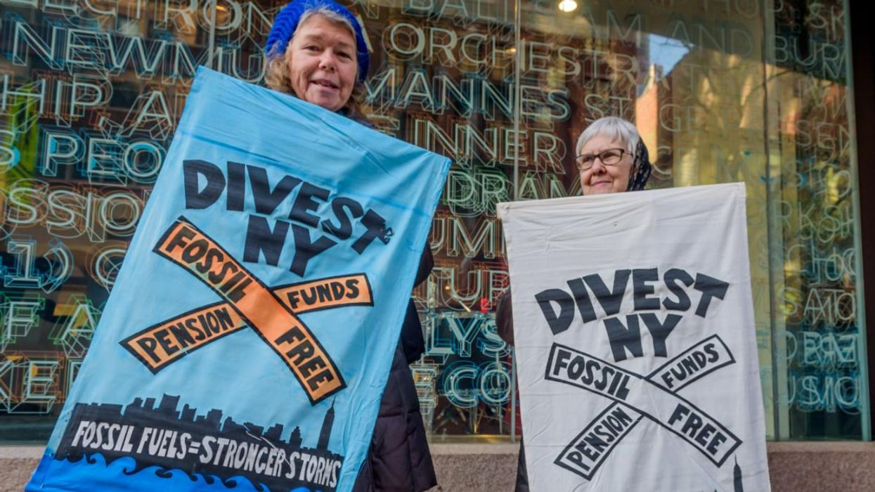NY Pension Fund Will Divest From Fossil Fuels