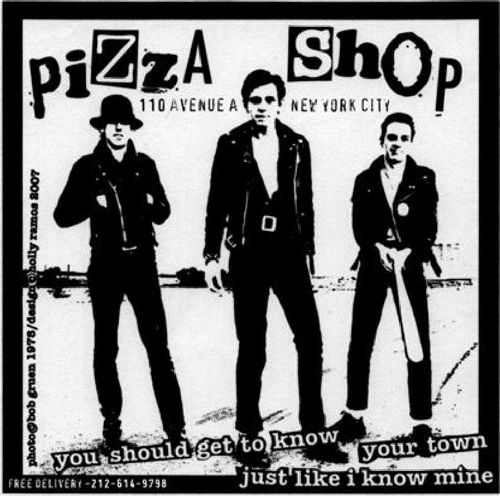 The Pizza Shop: A Marriage of Rock 'n' Roll and Pizza