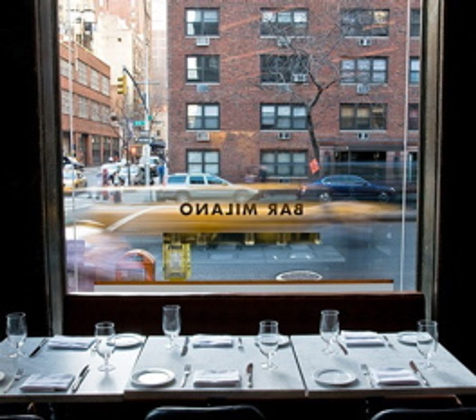 Restaurant of the Week: Bar Milano
