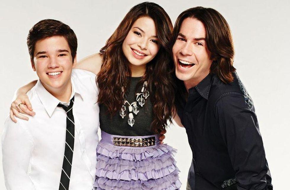 Nathan Kress, Miranda Cosgrove, and Jerry Trainor