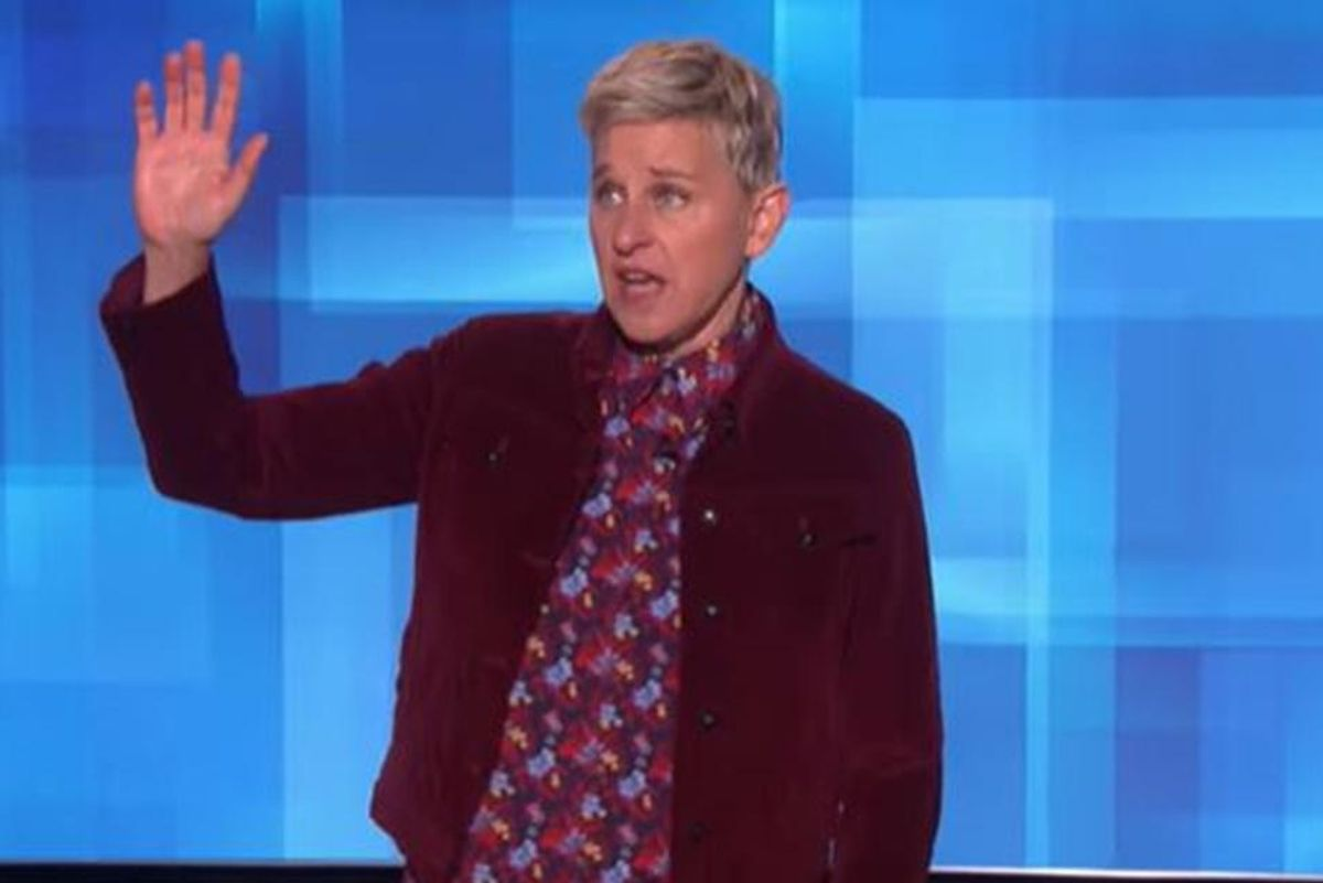 Ellen has COVID-19. As she recovers, it can be a teaching moment for her millions of fans.