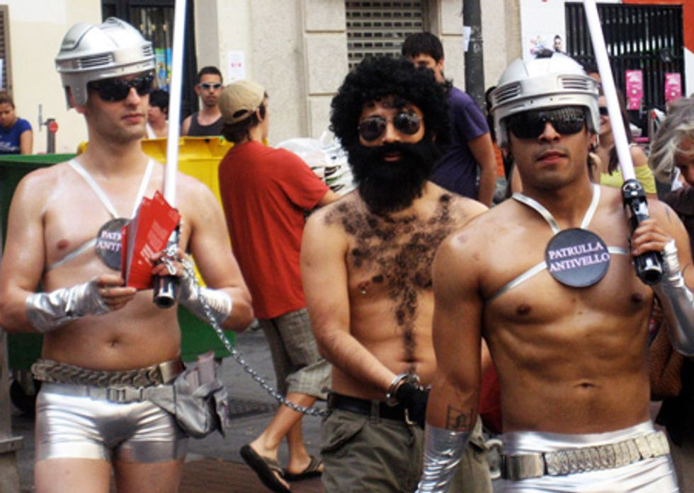 Reporting From Madrid Gay Pride