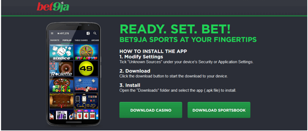 Bet9ja mobile betting world how to earn bitcoins android device