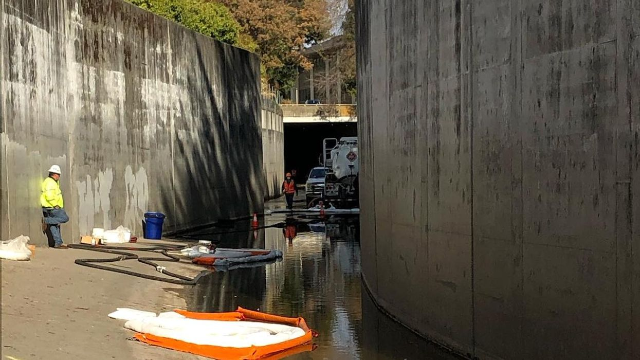 Kinder Morgan Pipeline Spills up to 42,000 Gallons of Gasoline Into California Drainage Canal